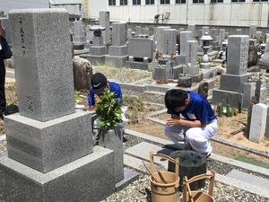 20190608トライやる墓そうじ.JPG